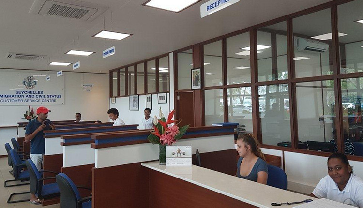 Immigration and Civil status Office Seychelles